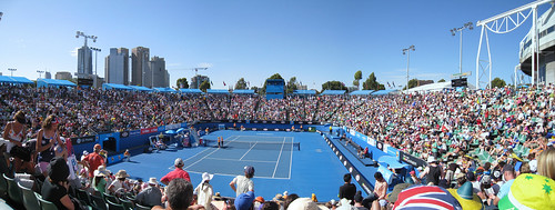 Margaret Court Arena Panorama