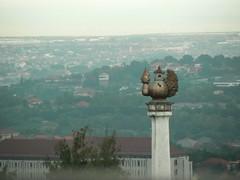 Blick von Gombel, Semarang