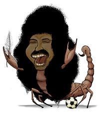 René Higuita el Escorpión