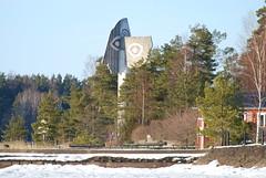 Picasso udden (ingelaSE) Tags: sculpture sweden picasso vnern kristinehamn