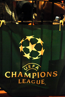 Heineken UEFA champions league tapestry / @Failte