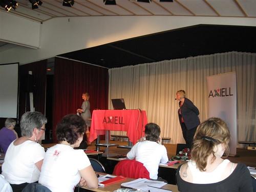 Charlotte Landgren berättar om Norrköpings Axiell Arena