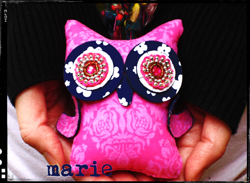 *Marie* Owl Giveaway