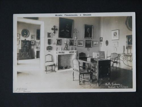 vintage postcards - musee fragonard 002
