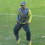 "Video: Boca Junior's mascot? <a style=""margin-left:10px; font-size:0.8em;"" href=""http://www.flickr.com/photos/75301516@N00/5807591560/"" target=""_blank"">@flickr</a>"