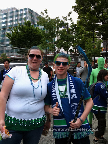 Vancouver Canucks victory party_5
