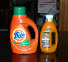 Tide and SportWash detergents