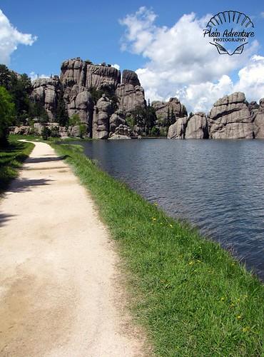 Path on Sylvan Lake