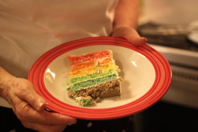 Rainbow Cake II
