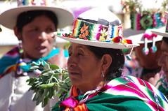 Carnival Oruro 2014, Bolivia (ARNAUD_Z_VOYAGE) Tags: street city carnival blue people music orange verde green heritage colors yellow festival azul america religious grey dance amazing shrine 2000 dancers humanity pentax folk altitud