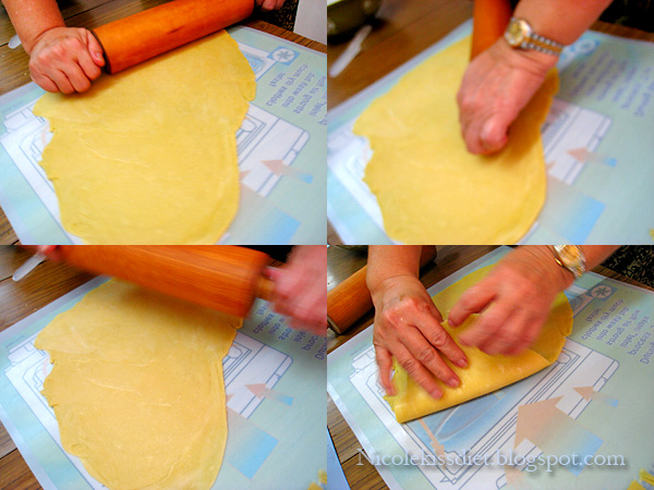 process of pineapple tarts