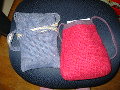 Two Sock Bags