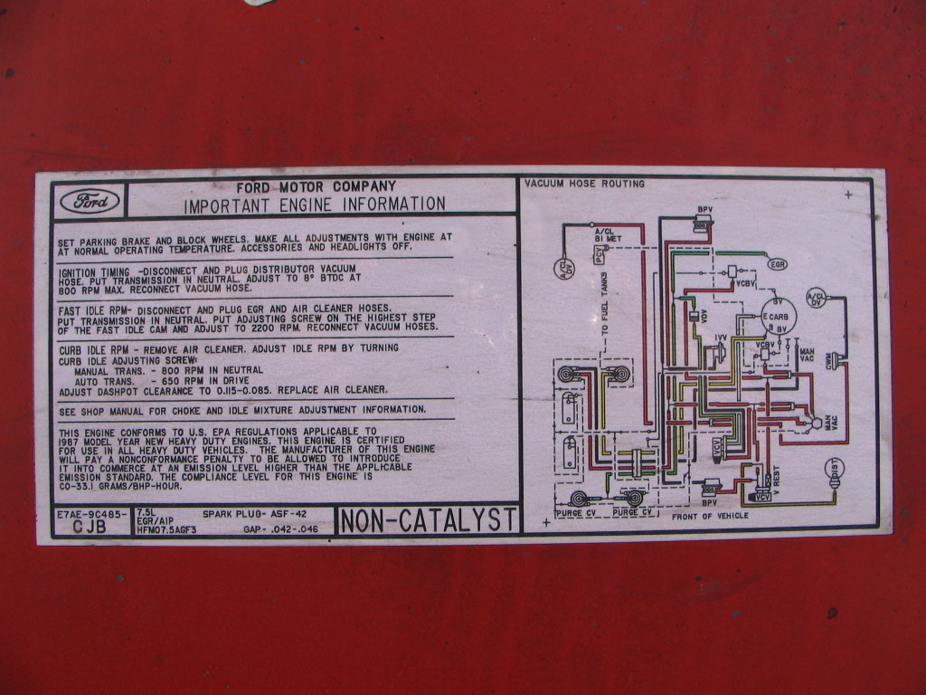1985 Ford F 250 460 Wiring Schematics Library Bronco Fuse Box