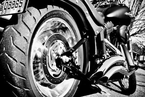 Look But Don't Touch - a Harley-Davidson motorcycle in Stayton Oregon