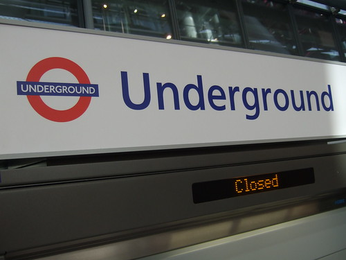 Underground Closed by James Cridland