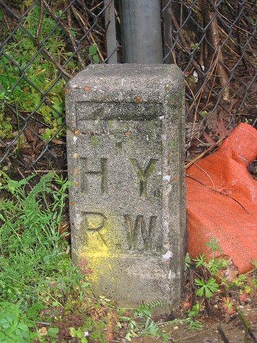 Mysterious Highway Marker on Jackson Avenue