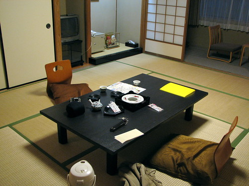 traditional guest house in tokyo