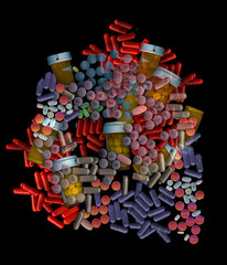 rosy glasses,crimson pills (psyberartist) Tags: drugs syringe medicine pills prescription jars allergy aplusphoto cmwdred cmwdblue cmwdpurple cmwdwhite cmwdtellow