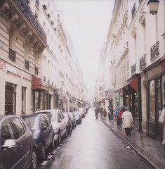 rainydayinparis (danske) Tags: travel paris polaroid rainyday ilestlouis