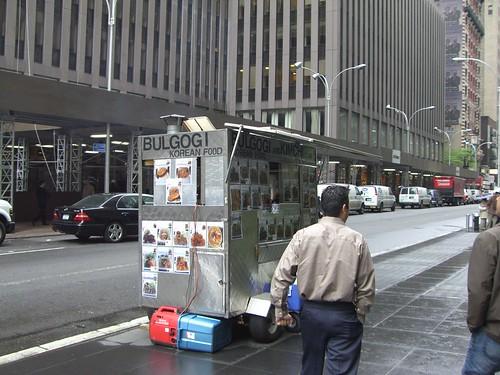Korean Bulgogi Cart NY Midtown