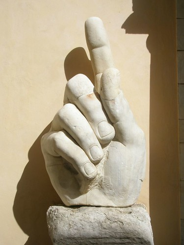 Colossus of Constantine Hand - Rome