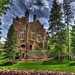 Glen Eyrie Castle & Footbridge, Colorado Springs