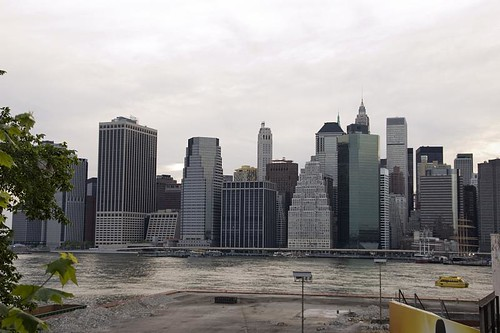 Manhattan from the Brooklyn Promenade
