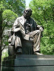 Horace Greeley Statue by Alan Cordova, on Flickr