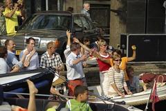 IMGP8458 (PharPhoto) Tags: people music color amsterdam fun boats canal concert pentax 2008 keizersgracht k10d nieuwspiegelstraat tamron18250 spiegelconcert