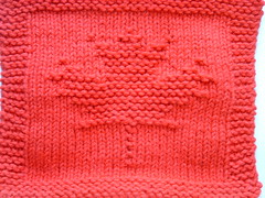 Ravelry: Garden Maple Leaf Knitted Dishcloth pattern by Melissa Bergland Burnham