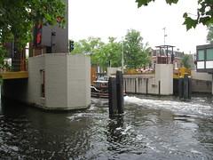 2008_06_03_amsterdam_07 (dsearls) Tags: amsterdam boat canal spring walk houseboat tugboat drawbridge anthropocene 20080603