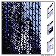 Chrysler B in a mirror (Frederic-JG) Tags: nyc manhattan buildingdetail abstraction chrysler reflexion squarepicture theperfectphotographer fredericjg fredericblanque fredericjgcom