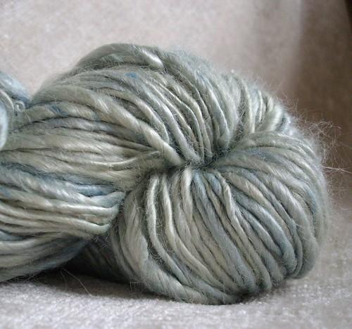 Farmer's market Project - 6.6- handspun yarn