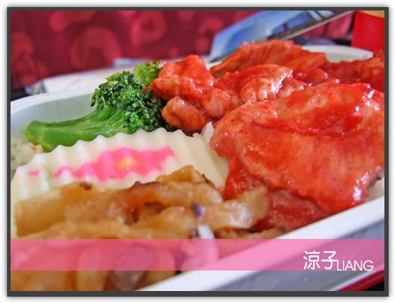 港龍飛機餐01