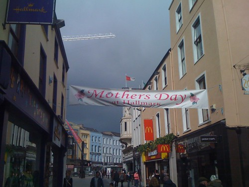 Mother's Day in Cork City