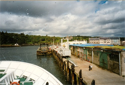 Departing Stornoway, 31 July 1996
