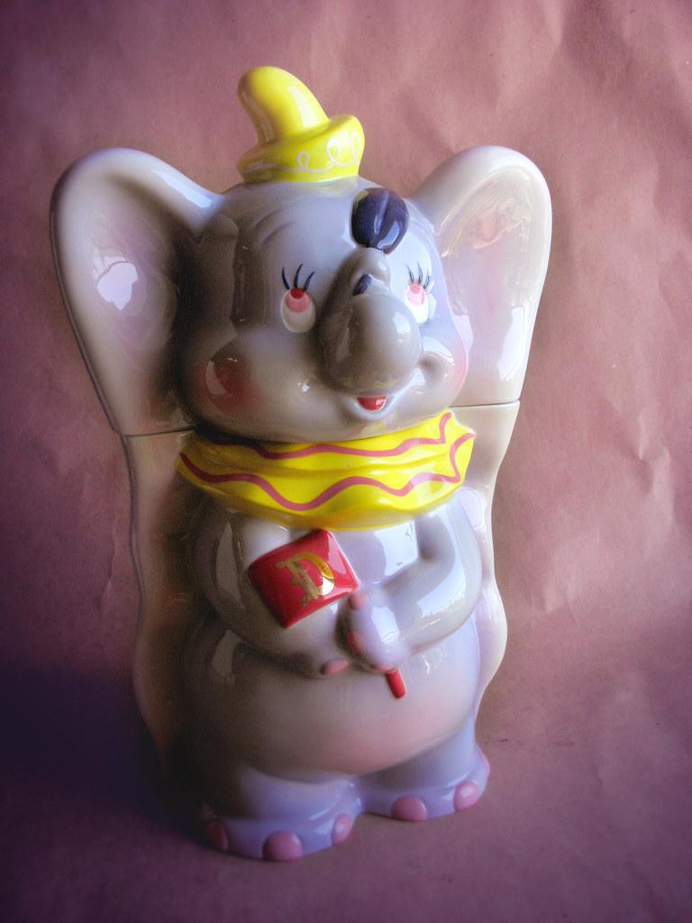 Dumbo Cookie Jar (Replica 1940s) Prototype
