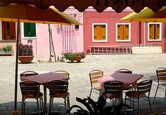 Dal caffè. (bdp_pd Barbara Dal Porto) Tags: italia venezia colori burano domenica isola allegria veneto