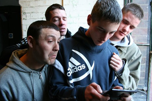 Devlin Playing Nintendo DS (Grime MC)