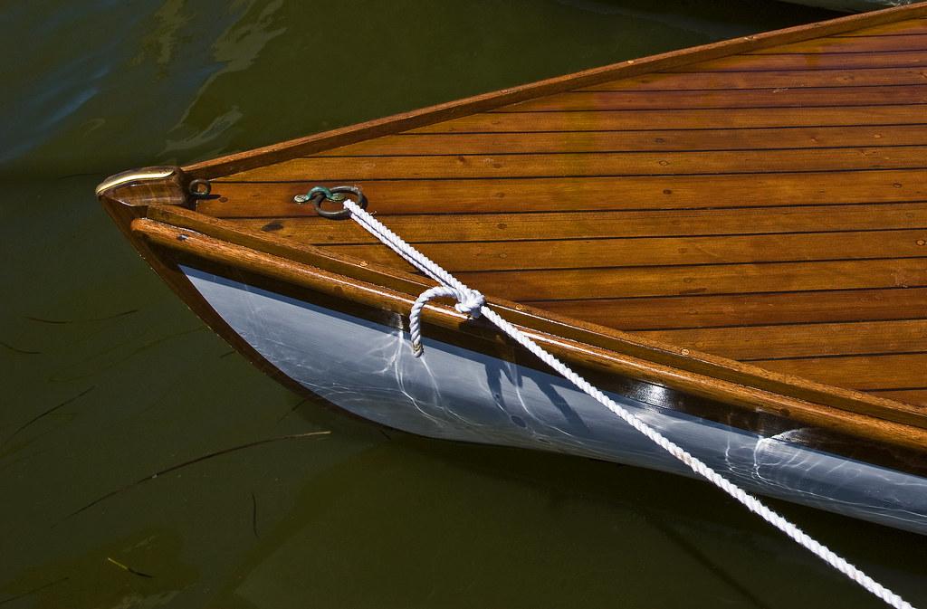 wood cat boat