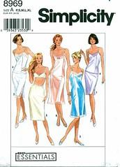 Simplicity 8969 Misses Half & Full Slips & Camisole (yourpatternshop) Tags: lingerie international simplicity slip etsy camisole misses sewingpattern fullslip halfslip patternshop teamesst