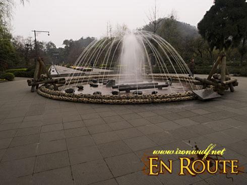 Dujiangyan Yuleishan Park