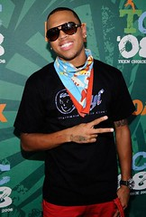 chris brown @ the Teen Choice Awards