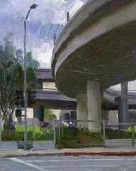 1st and Ford (alexhsch@gmail.com) Tags: alex painting artist air painter plein schaefer