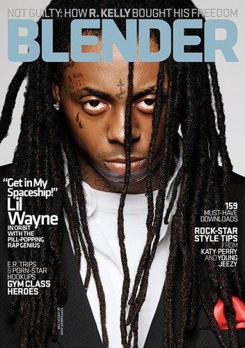 lil wayne blender magazine cover