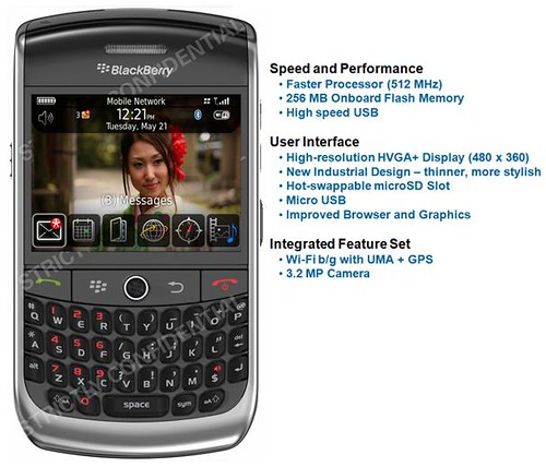 Blackberry Javelin 9300 Photos