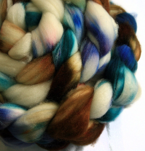 sw merino blue and brown