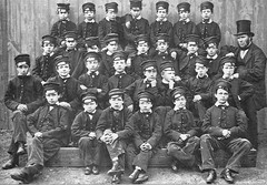 Victorian School 1862 (Stuart Axe) Tags: old city uk greatbritain school england blackandwhite bw history childhood vintage town classroom unitedkingdom postcard classmates victorian yearbook class scan historic scanned gb oldphoto historical schoolphoto oldphotograph essex 100yearsold classphoto earlyphotography chelmsford schoolpicture mostviewed elementry mostviews schooldays schoolphotograph classphotograph victorianschool countytown elementryschool countyofessex unlimitedphotos victorianclassroom cityofchelmsford