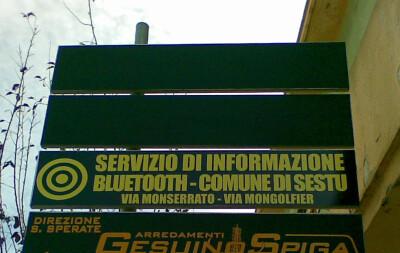 Servizio Bluetooth @ Sestu