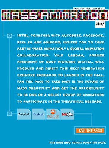 Intel Mass Animation Collaboration